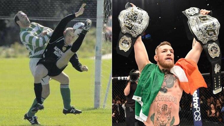 El pasado oculto de Conor McGregor  de talentoso futbolista a ... fca502f1a66a5