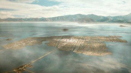 Tenochtitlan (Foto: Twitter@Cuauhtemoc_1521)