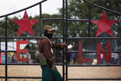 El subocomandante Galeano del Ejército Zapatista de Liberación Nacional. (Foto CARLOS OGAZ /CUARTOSCURO)