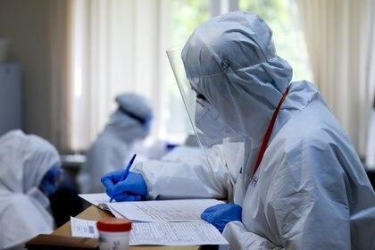 Los científicos investigan las posibles secuelas del coronavirus (PPI via ZUMA)