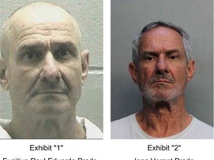 La foto de la izquierda corresponde al sistema correccional del Condado de Richmond, en Georgia. A la derecha, la imagen del arrestado en Miami, con la distinción hecha por su abogado Jonathan Meltz