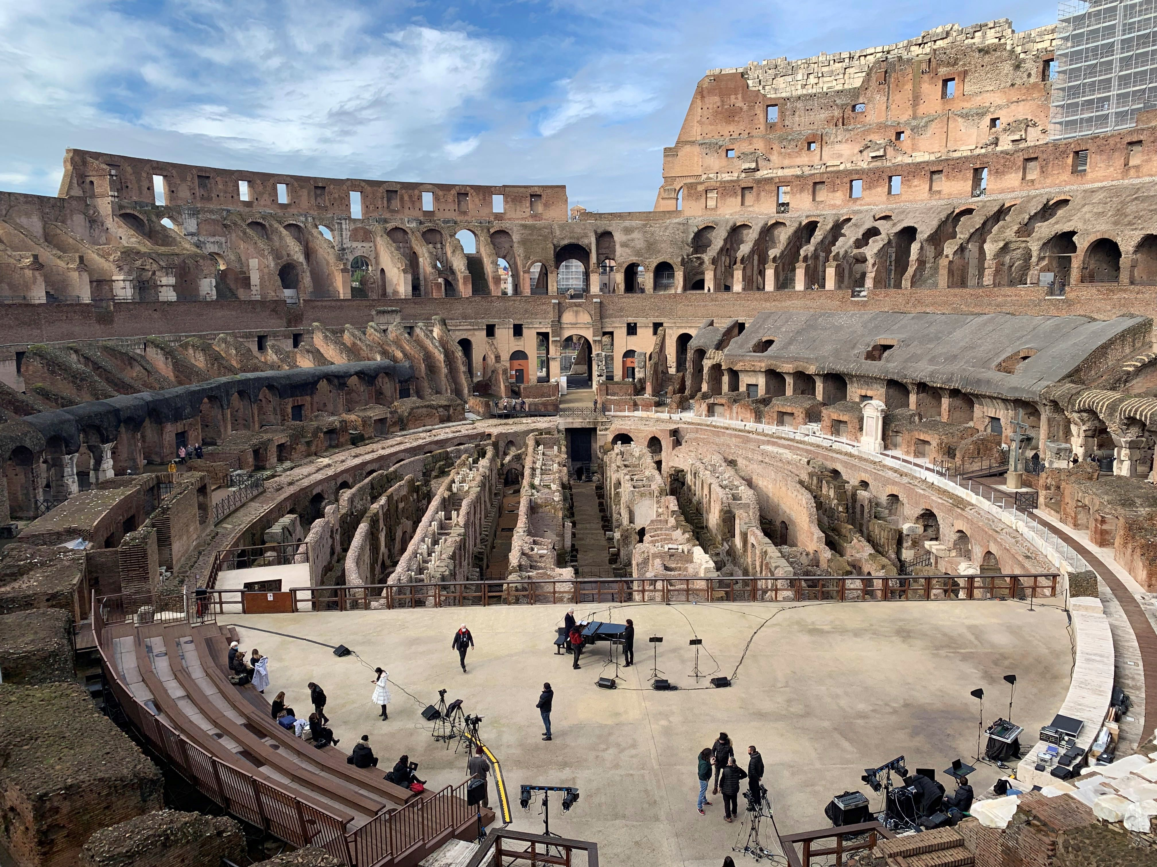 El Coliseo de Roma, Italia. EFE/ Paula Bernabéu