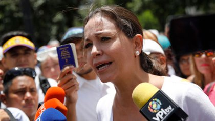 Maria Corina Machado, una de las firmantes de la carta (Reuters)