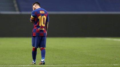 Lionel Messi podría salir del Barcelona (Photo by Manu Fernandez / POOL / AFP)