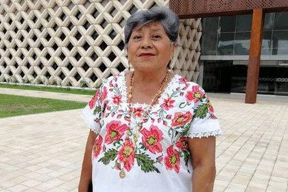 Marlene Catzín Cih fue alcaldesa en tres ocasiones y cuando no gobernaba ella lo hacía su esposo (Foto: Twitter@Latitud21mx)