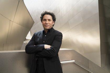 Gustavo Dudamel (Foto: PALAU DE LA MÚSICA/SMALLZ RASKIND)