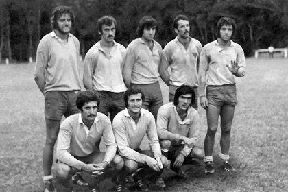 Los jugadores de La Plata Rugby Club: veinte de ellos están desaparecidos