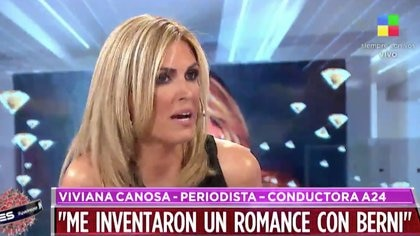 Viviana Canosa habló de todo en Intratables (Foto: Intratables, América)