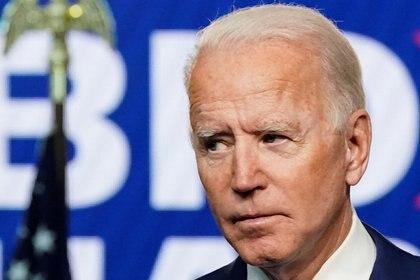 El candidato presidencial demócrata Joe Biden (REUTERS/Kevin Lamarque)