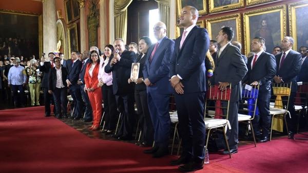 Diosdado Cabello y la ex canciller Delcy Rodríguez forman parte de la Asamblea Constituyente