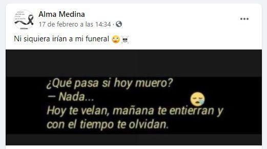 Alma Rosa Medina Patrulla 81 (Foto: Facebook)