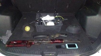 Los drones con explosivos son un arma a la que ha recurrido el narcotráfico (Foto: Archivo)