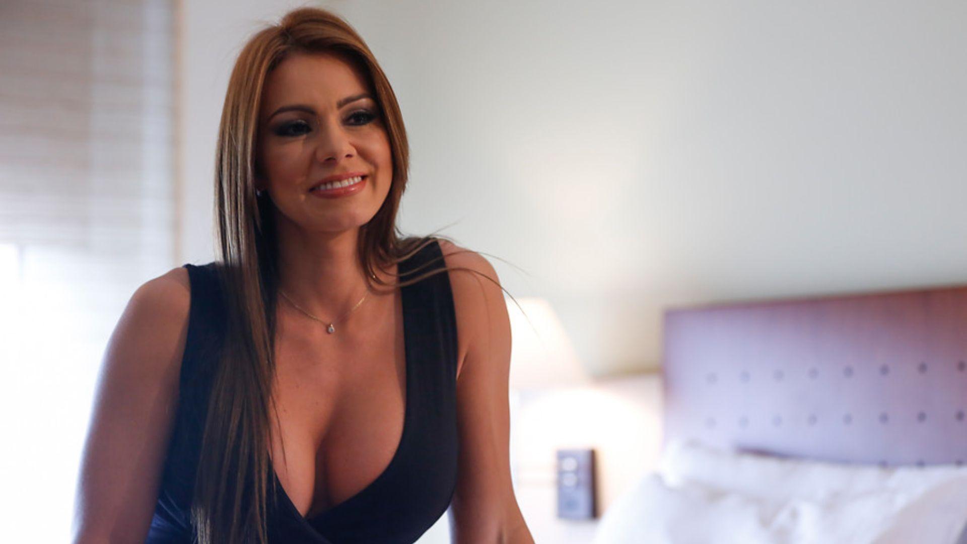 La actriz porno Esperanza Gómez. (Colprensa - Juan Páez).