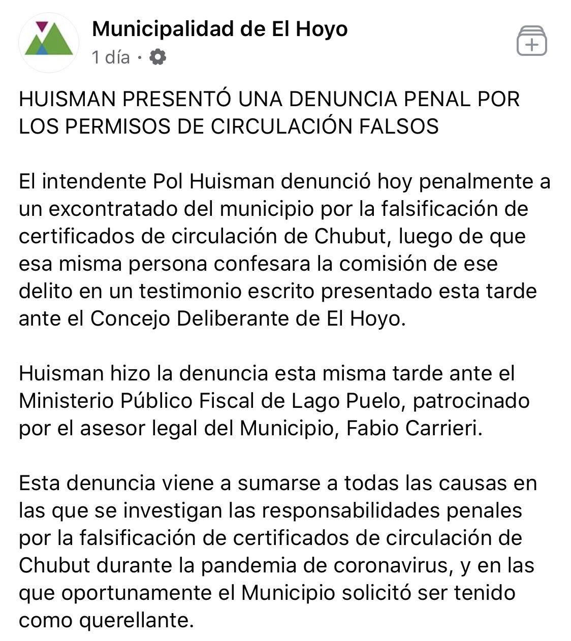 El Hoyo-Chubut