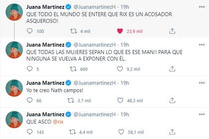 Juana Martínez sobre RIX