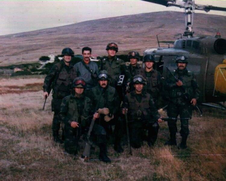 Los soldados de las Fuerzas Especiales del Ejército del Comando 601 como los del RI5 sufrieron todo tipo de privaciones en Puerto Howard, en la isla de Gran Malvina