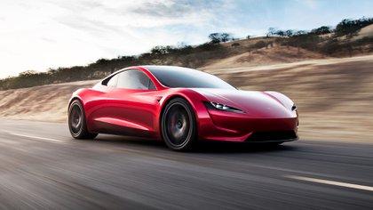 El Roadster 2020 será la segunda versión del primer modelo producido por Tesla. Por ahora suma sólo promesas. (Prensa Tesla)