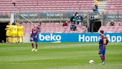 El Barcelona perdió dos puntos claves ante el Cádiz en la liga al empatar 1-1 en el Camp Nou. Luego se repuso al golear 3-0 al Elche (Reuters)