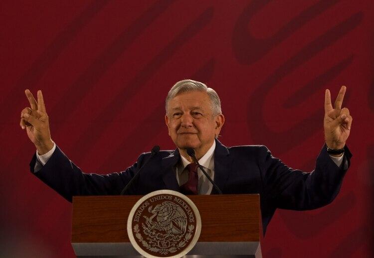 Andrés Manuel López Obrador rehusó contestar a Trump. (Foto: Cuartoscuro)