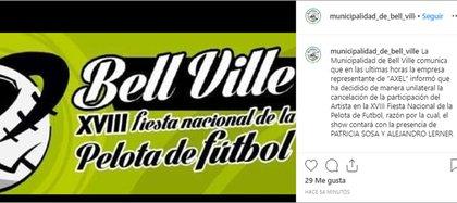 El cantante suspendió un show que iba a dar en Córdoba tras la denuncia penal por abuso sexual