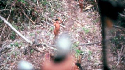 La tribu vivía aislada en la selva amazónica de Ecuador