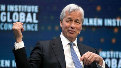 James Dimon,m CEO de JP Morgan Chase (Shutterstock)