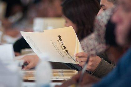 Del 20 al 28 de abril se recibieron 12,576 solicitudes para el Seguro de Desempleo, de las cuáles sólo 488 han sido aprobadas (Foto: cuartoscuro)