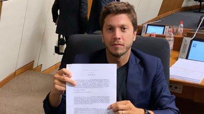 El diputado Carlos Rejala, una de las víctimas