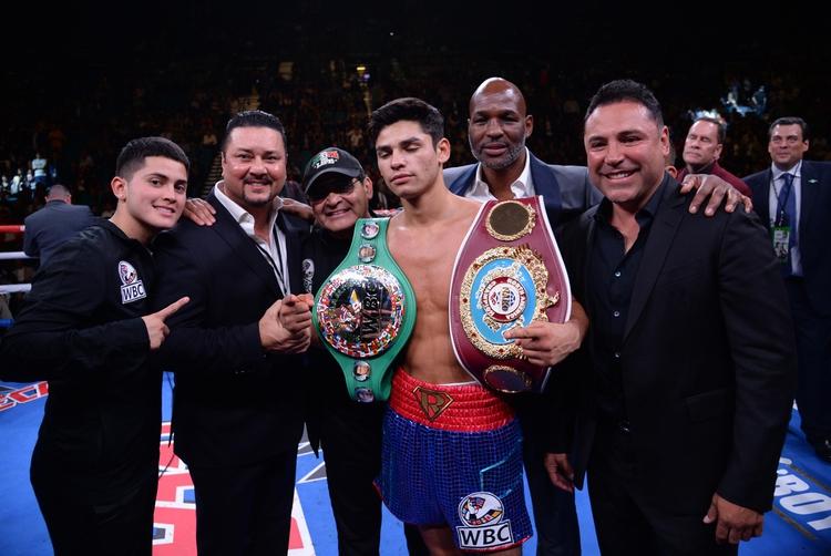 Ryan Garcia, de 21 años, es apadrinado por Óscar de la Hoya y está listo para pelear contra los mejores del mundo (USA TODAY Sports)