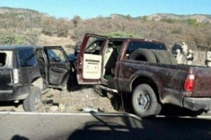 Un hermano y un sobrino de El jaguar murieron en el enfrentamiento armado en Madera (Foto: Twitter@claroydirectomx)