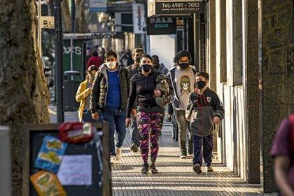 La vida bajo protocolos será clave para la flexibilización de actividades en la provincia de Buenos Aires (ZUMA PRESS / CONTACTOPHO)