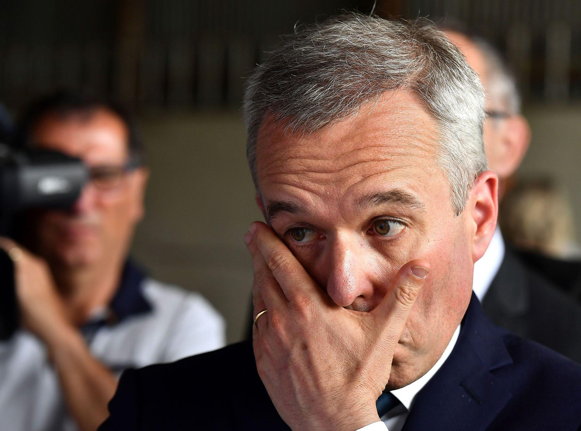 Francois de Rugy renunció al cargo de ministro francés de Medio Ambiente tras un escándalo de cenas de lujo(Foto de GEORGES GOBET / AFP)