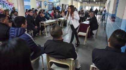 La fiscal Marcela Dimundo (Guille Llamos)
