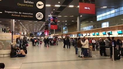 Aeropuerto El Dorado. Bogotá - Colombia. Foto de Archivo.