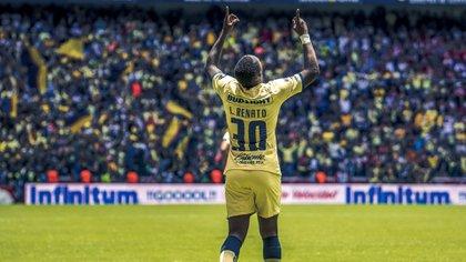 Renato Ibarra, jugador del América que fue acusado de tentativa de feminicidio (Foto: Club América)