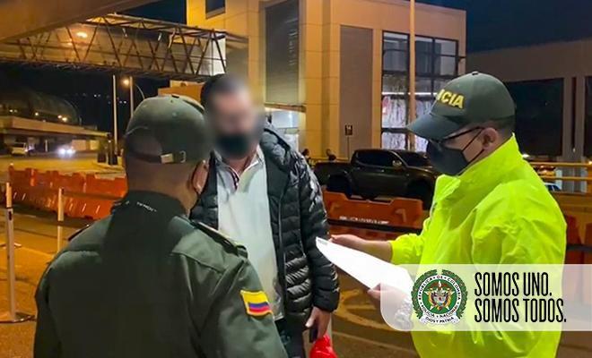 """Álex Fernando, alias el """"Mexicano"""" y/o """"Marichi"""" fue detenido en Colombia. Tenía nexos con cárteles colombianos y mexicanos"""