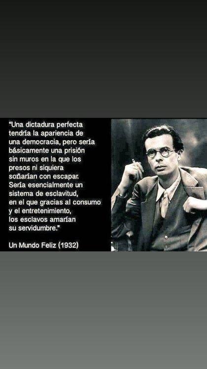Nicolás Pauls citó a Aldous Huxley y a la Constitución Nacional