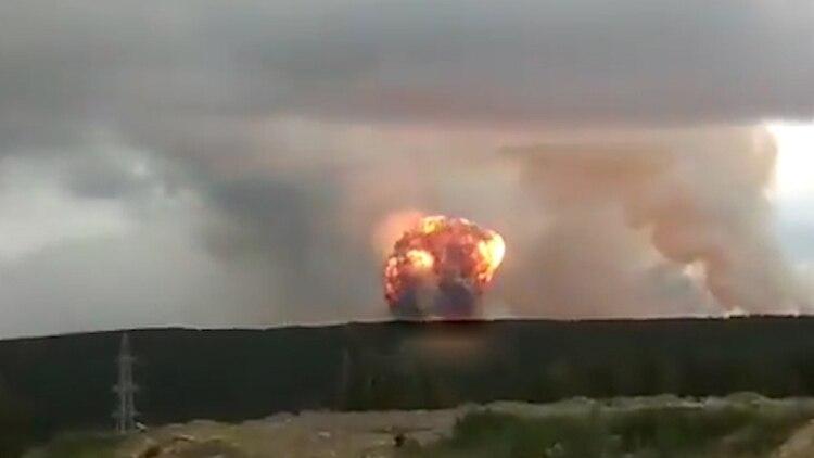 La explosión del lunes en Siberia dejó un saldo de un muerto y 13 heridos