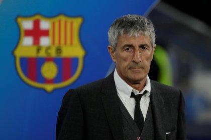 Quique llegó al Barcelona para reemplazar a Ernesto Valverde en un contexto de crisis, de la cual no logró sacar al equipo (REUTERS/Ciro De Luca/File Photo)
