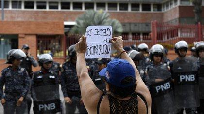 (Photo by Juan BARRETO / AFP)