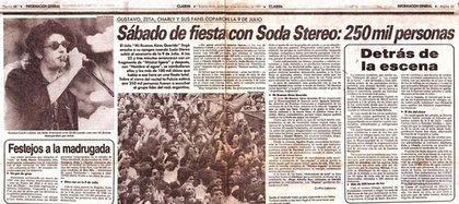 La nota en el diario Clarín