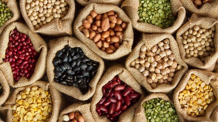 Las legumbres tienen larga duración y no pierden su valor nutricional (Shutterstock)