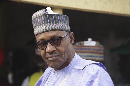 Muhammadu Buhari, presidente de Nigeria (EFE/EPA/GEORGE ESIRI)