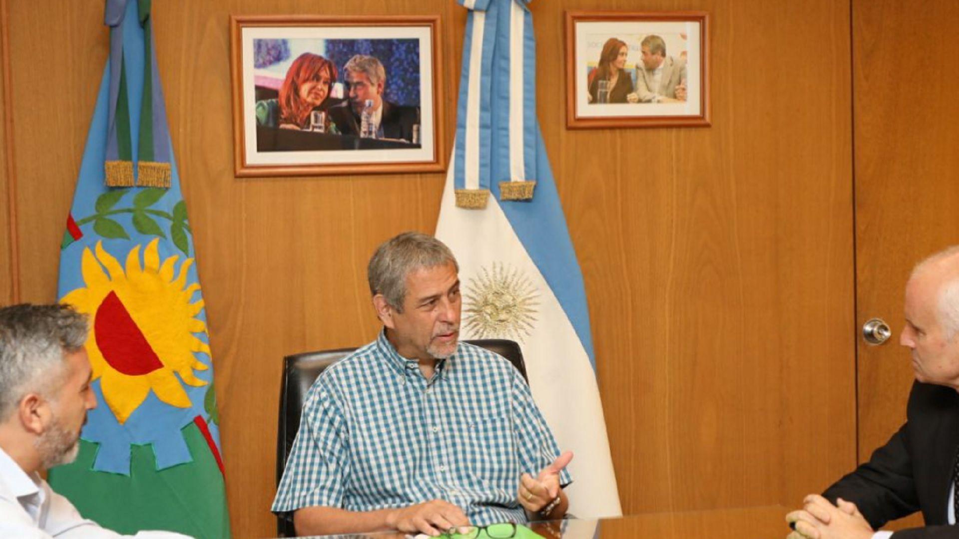Ferraresi es intendente de Avellaneda desde 2009 y antes fue Secretario de Obras Públicas desde 1991 en diferentes períodos (Twitter)