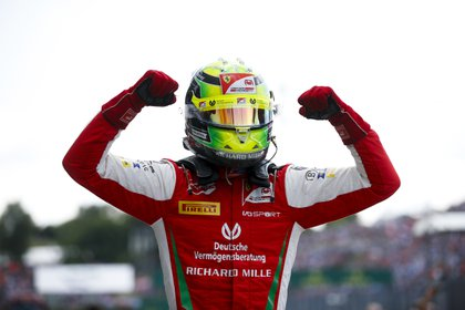 Mick es líder del torneo en Fórmula 2 a siete carreras para el final (Foto: Prensa Fórmula 2)