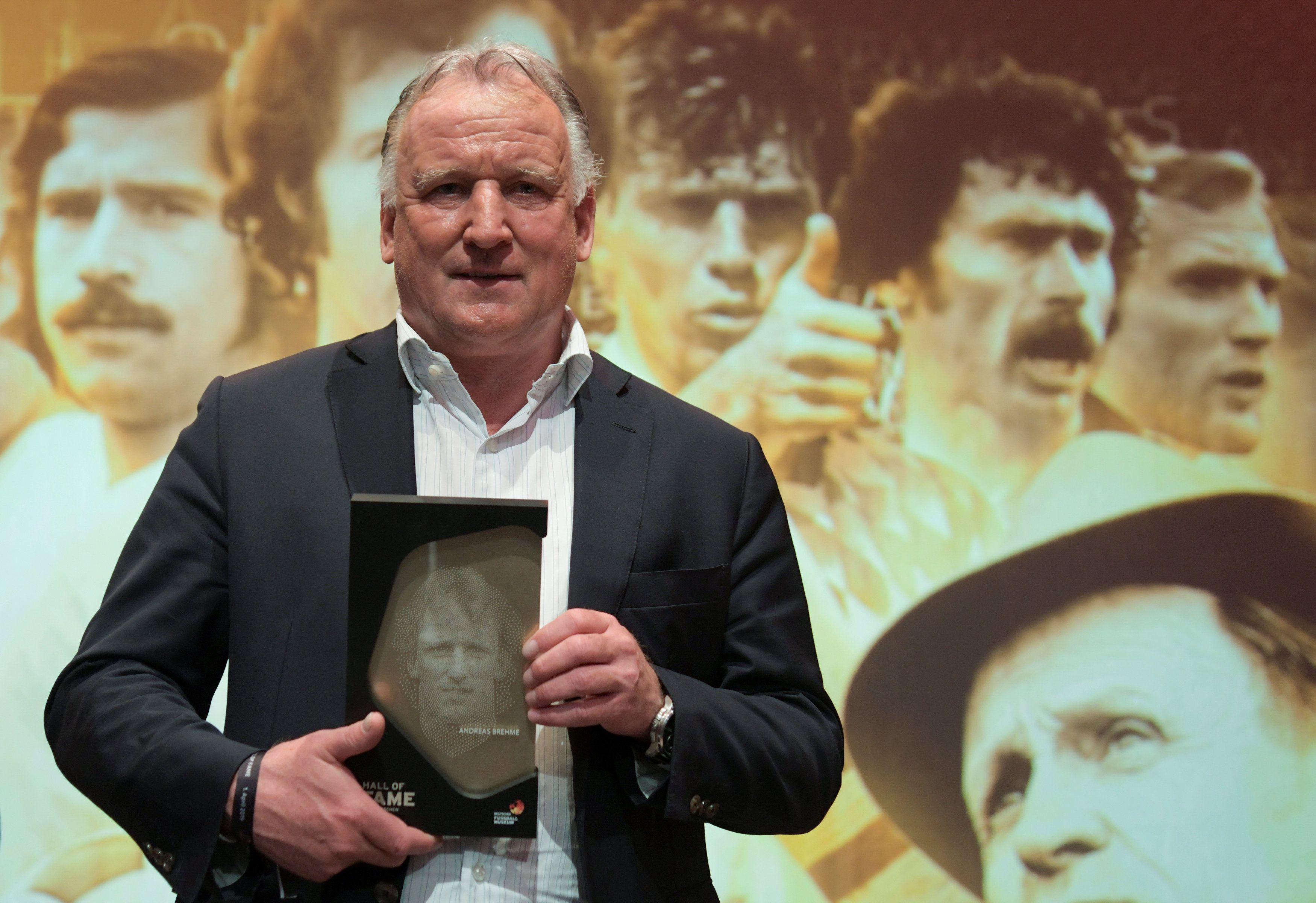 Andreas Brehme, una leyenda del fútbol alemán (REUTERS/Ina Fassbender/Pool)