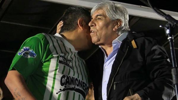 Hugo y Pablo Moyano