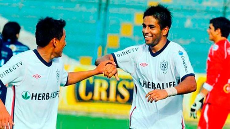 Diego Nadaya jugó la Copa Libertadores con Universidad San Martín de Porres de Perú