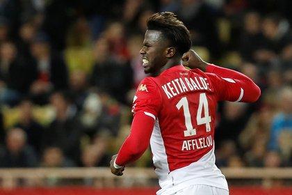 Keita Baldé es figura en el Mónaco, de Francia (REUTERS/Eric Gaillard)
