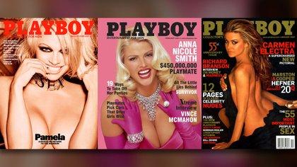 """Pamela Anderson, Anna Nicole Smith y Carmen Electra, la vida después de """"Playboy"""" no fue igual para ellas"""